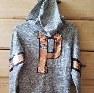 Vs PINK bling full-zip hoodie